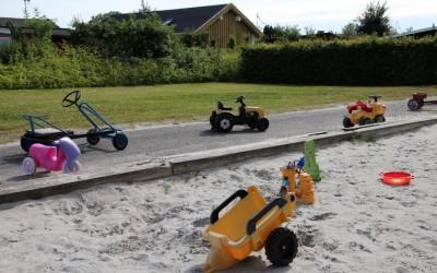 Legepladsen ryddes for legetøj