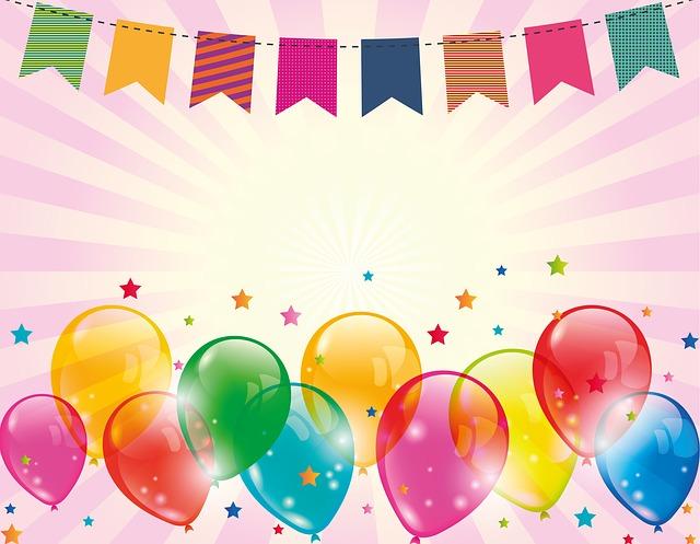 Vi fejrer fødselsdag